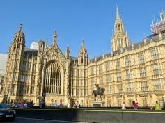 Parliament buildings.